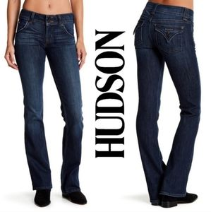 Hudson Signature Bootcut Low Rise Jean 27